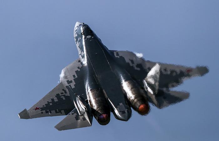 Россия покажет на выставке в Индии модель истребителя Су-57Э