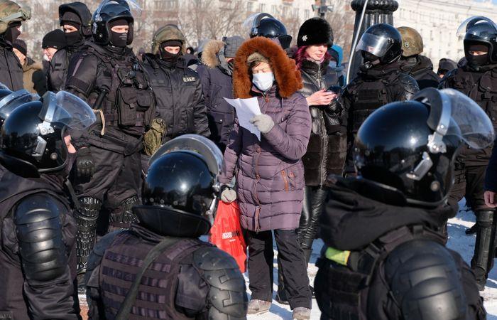 На Дальнем Востоке проходят акции в поддержку Навального