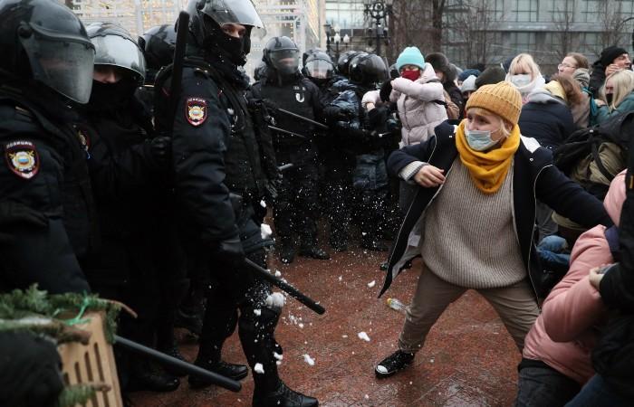 Все пострадавшие на акции в Москве выписаны из больниц