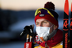 В финскую полицию поступило заявление на лыжника Большунова