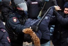Административный арест назначен 30 участникам субботней акции в Москве