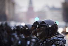 В Москве арестован первый обвиняемый в нападении на полицейского 23 января