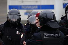 Спецприемники Москвы переполнены участниками акции 23 января