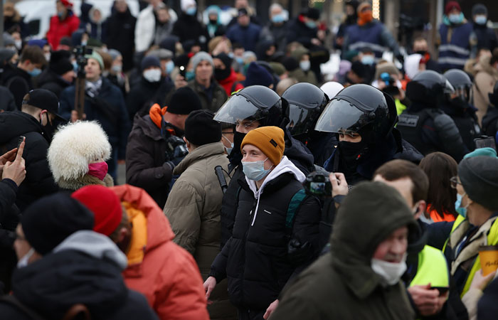 После несанкционированных акций в РФ возбудили 20 уголовных дел