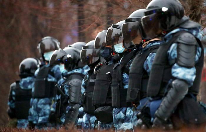 В Москве арестовали напавшего на росгвардейца в ходе протеста 23 января
