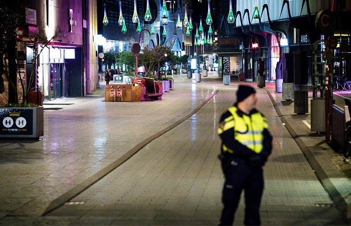 Полиция Нидерландов не допустила третью ночь беспорядков в стране