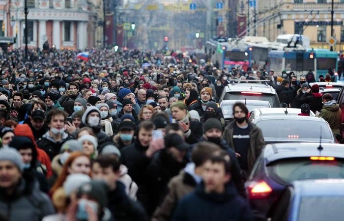 Омбудсмен Петербурга счел неправомерными действия полиции 23 января