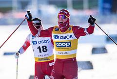 Большунов выиграл масс-старт на этапе Кубка мира в Швеции