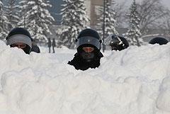 На акциях в Сибири задержаны несколько десятков протестующих