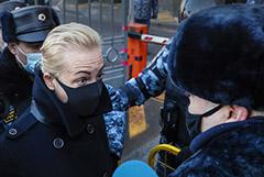Несколько человек задержаны в районе Мосгорсуда
