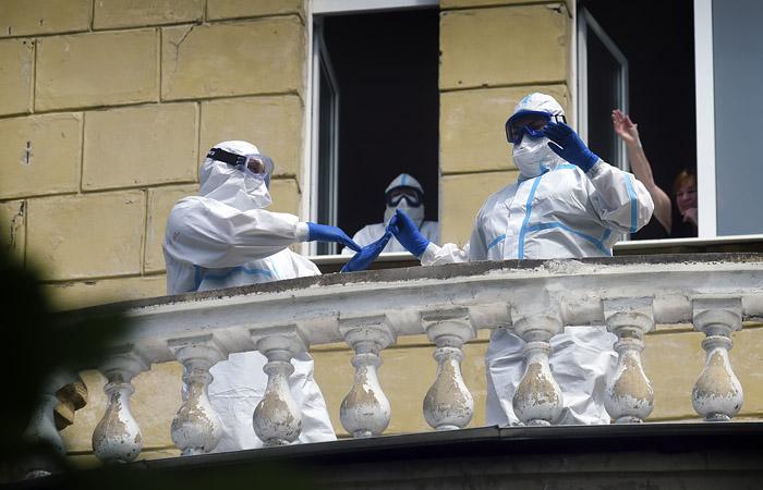 В России за сутки выявлено 16,7 тыс. новых случаев коронавируса