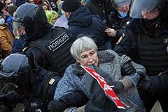 Суды Москвы назначили протестующим 927 арестов и 1227 штрафов