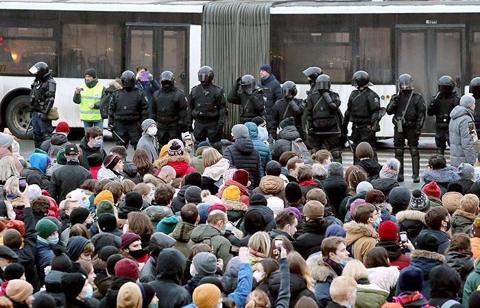 В Петербурге начались обыски по делу о блокировке движения 23 января