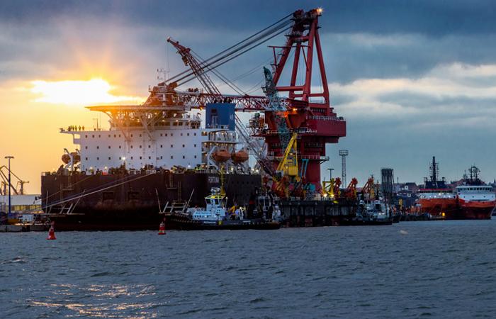 Укладку Nord Stream 2 в датских водах хотят завершить до конца апреля