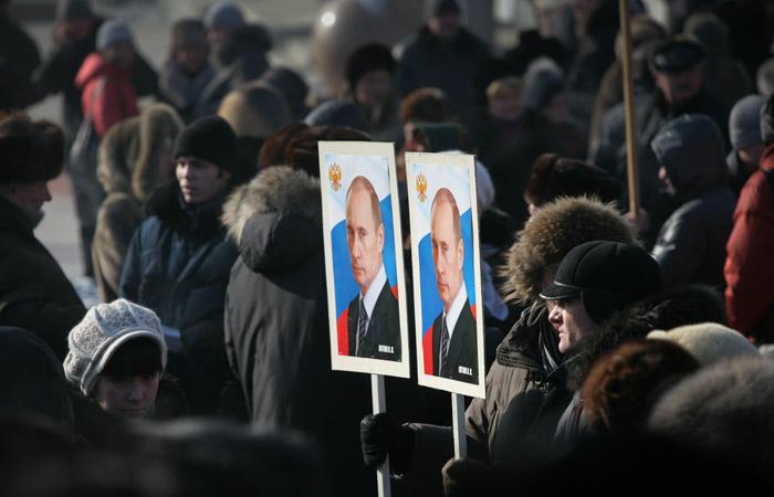 В Кремле открестились от массовых акций в поддержку президента