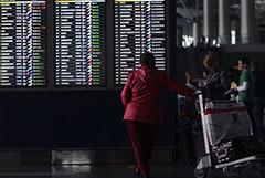 Около 30 рейсов задержано в аэропортах Москвы в пятницу