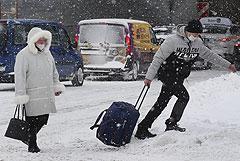 В Москве не хватило 1 см высоты снежного покрова до нового рекорда