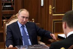 Путин обсудил с Дегтяревым итоги полугода его работы в Хабаровском крае