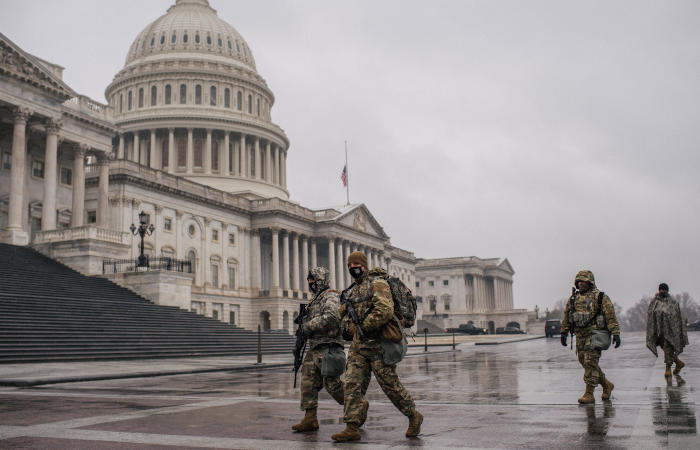 Тысячи нацгвардейцев будут охранять Вашингтон, чтобы предотвратить беспорядки