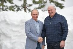 Путин встретился с Лукашенко в Сочи и пригласил покататься на лыжах