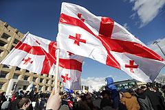 Оппозиция на акции в Тбилиси потребовала освобождения Никанора Мелии