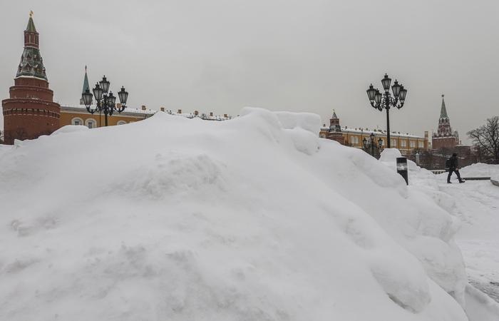 """""""Оранжевый"""" уровень опасности объявлен в Москве из-за аномальных морозов"""