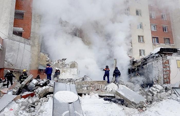 В Нижнем Новгороде произошел взрыв в суши-баре