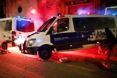 В Барселоне протесты против ареста рэпера снова переросли в беспорядки