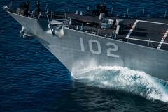 В Порт-Судан после захода российского фрегата направился эсминец ВМС США