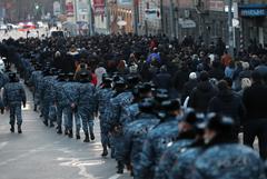 Три митинга ждут столицу Армении в понедельник