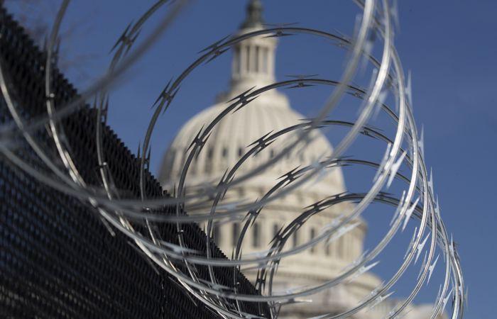 Полиция Капитолия усилит меры безопасности из-за тревожных разведданных