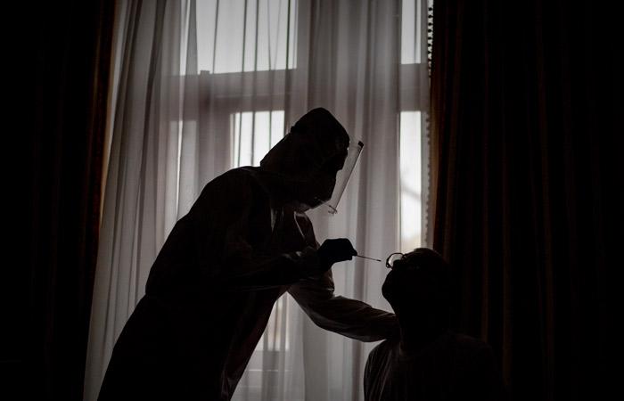 В России за сутки было выявлено 10,5 тыс. новых случаев коронавируса