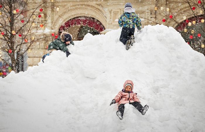 Февраль стал самым снежным в Москве за последние семь лет