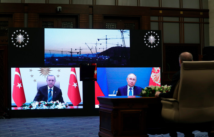 """РФ и Турция дали старт началу строительства III блока АЭС """"Аккую"""""""