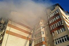 Возможной причиной пожара в Анапе назвали устроенную в квартире сауну