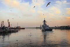 Минобороны получило в пользование часть акватории Каспийской бухты