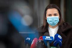 Тихановская объявила общенациональное голосование в интернете