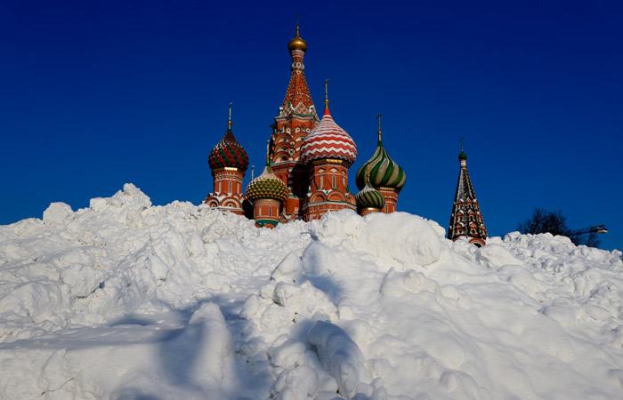 Снега зимой в Москве выпало на 16% больше годовой нормы