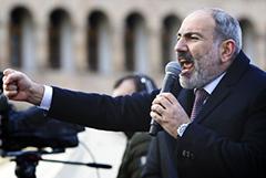 Пашинян останется врио премьера Армении до выборов в парламент 20 июня