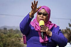 Пост президента Танзании впервые в истории страны заняла женщина