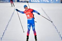 Латыпов стал вторым в масс-старте на заключительном этапе КМ по биатлону