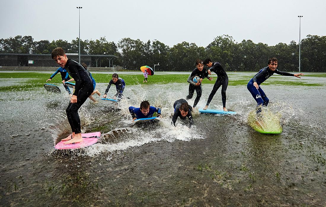 Подтопления в Сиднее