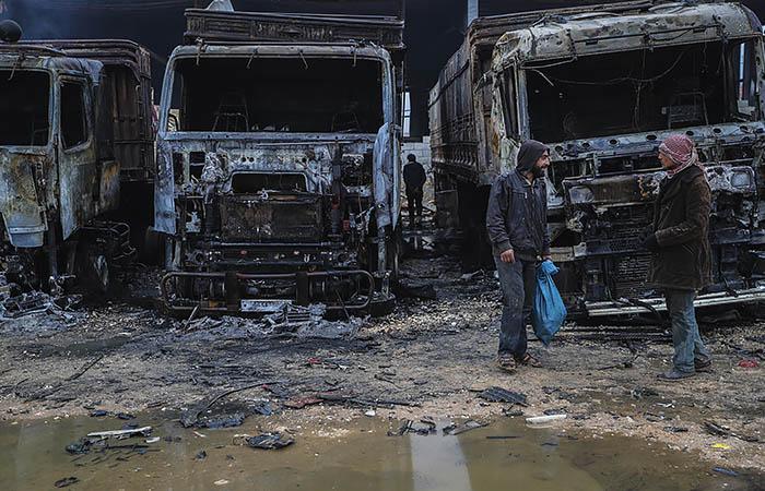 США обеспокоены сообщениями об ударах РФ и Дамаска в Идлибе и Алеппо