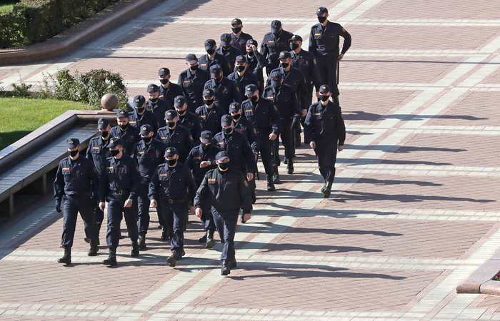Белорусская милиция назвала фейком информацию о тысяче уволившихся сотрудников