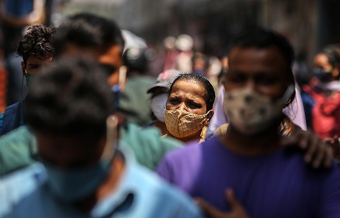 В Индии обнаружили новый штамм COVID с двойной мутацией