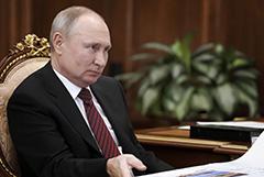 Путин чувствует себя хорошо через сутки после первой COVID-прививки