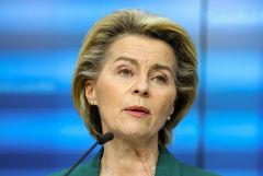 """Глава ЕК заявила, что AstraZeneca должна """"догнать"""" поставки в ЕС"""
