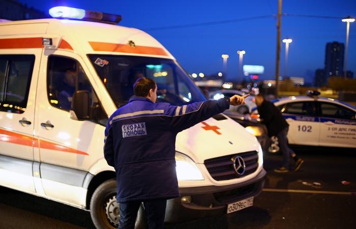 Полицейский насмерть сбил пешехода на Кутузовском проспекте в Москве