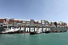 Президент Египта сообщил о разблокировке Суэцкого канала