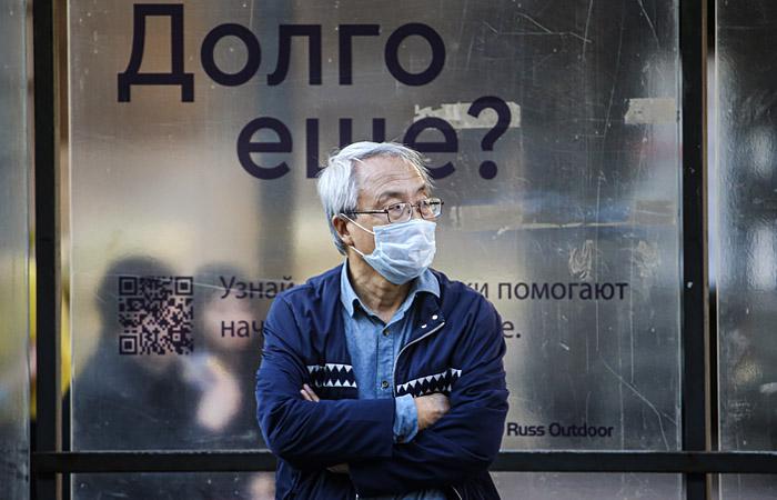 В России за сутки выявлено 8,2 тыс. новых случаев коронавируса